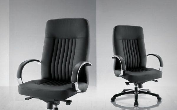 Luxdezine Black Firm Executive Chair