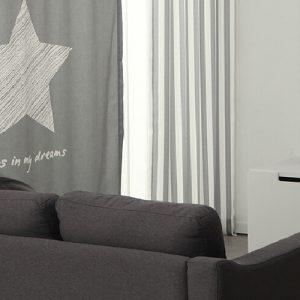 Luxdezine Blackout Curtains Crayon Star