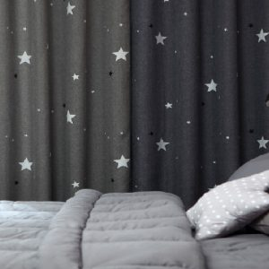 Luxdezine Blackout Curtains Star Night