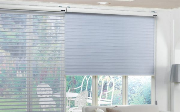 Luxdezine Blinds Triple Shade Window