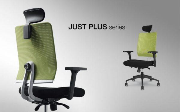 Luxdezine Green Just Plus Series Ergonomic Office Chair