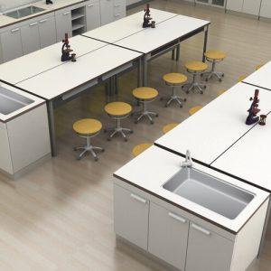 Luxdezine Laboratory Furniture Classroom Type