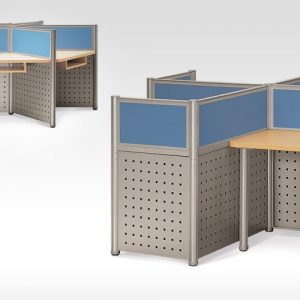 luxdezine Library Study Tables Divider Furniture