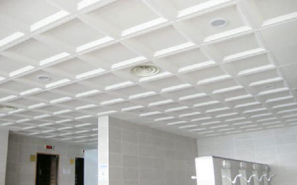 Luxdezine Metal Ceiling White SMC
