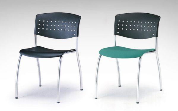 Luxdezine Multi Use Chair Black Silver Metal