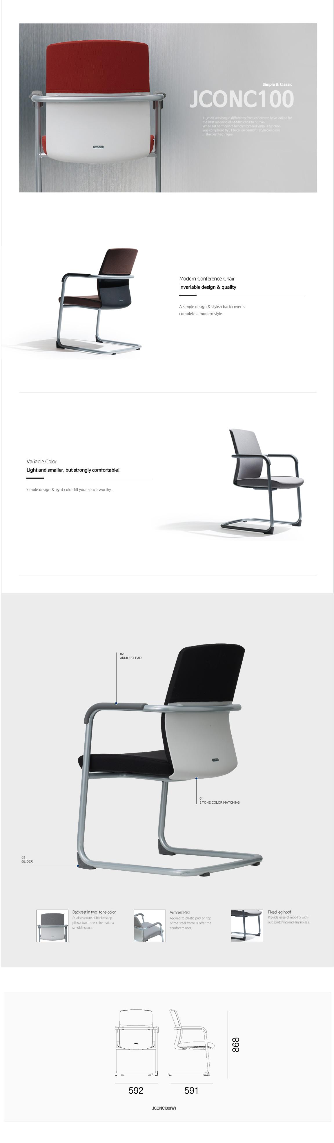 Luxdezine Multipurpose Chairs JCON100