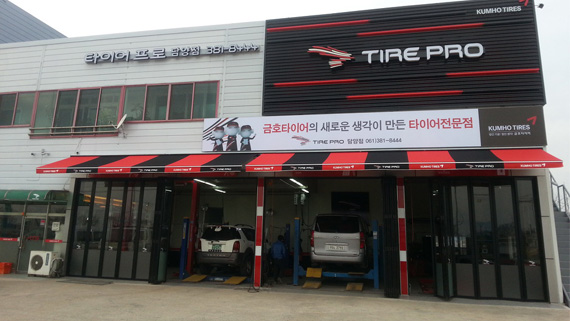 Luxdezine Retractable Awning Actual Outdoor Red Black Korea Tire Pro