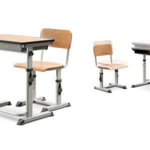 Luxdezine School Classroom Furniture Wood Table Chair