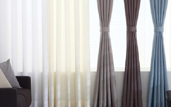 Luxdezine Sheer Curtains Nature Linen Look