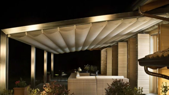 Luxdezine Sky Awning Outdoor White Over Looking