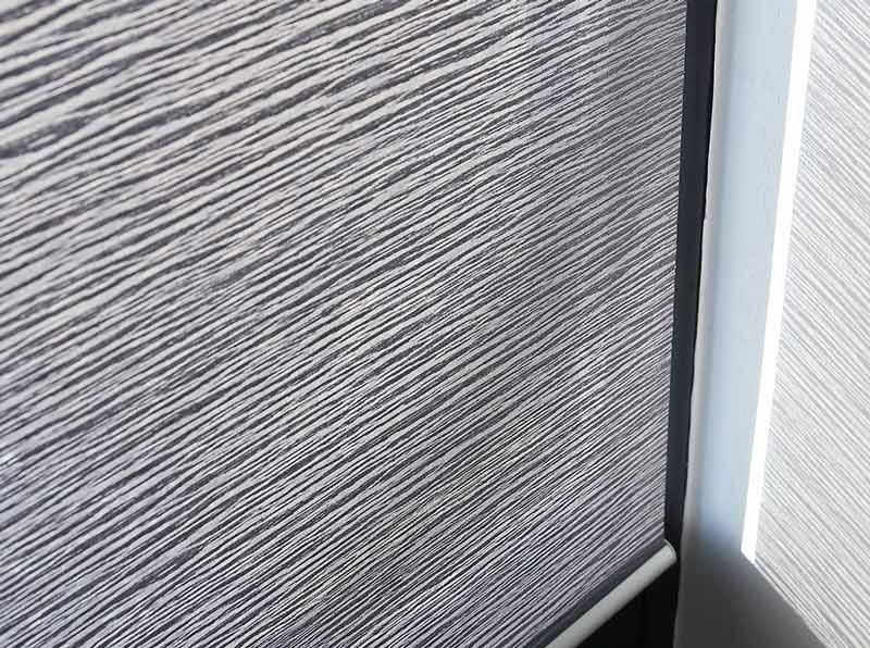 Luxdedzine Window Blinds Roll Screen Shades Grey Zoom