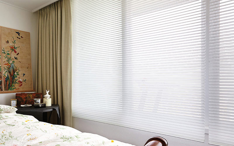 Luxdezine Window Blinds 3D Shade Privacy Bed Room Bright