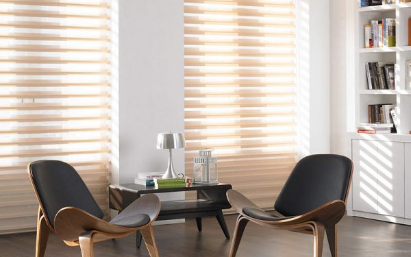 Luxdezine Window Blinds 3D Shade Privacy Center Piece