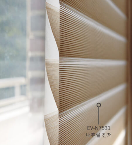 Luxdezine Window Blinds 3D Shade Privacy Closed Zoom