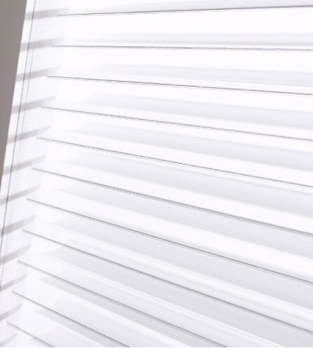 Luxdezine Window Blinds 3D Shade Privacy White