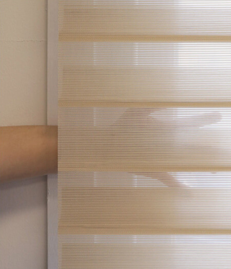 Luxdezine Window Blinds 3D Shade Privacy Zoom Details