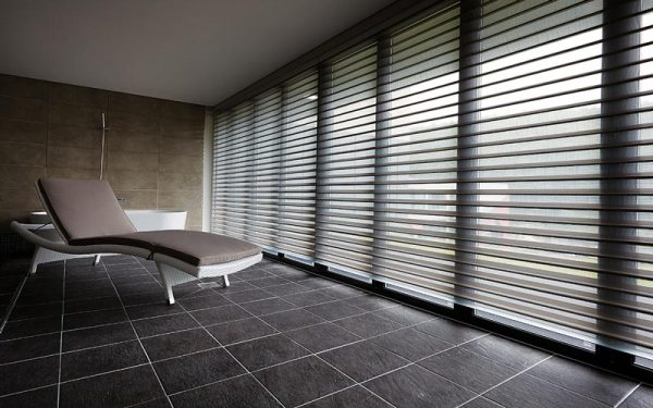 Luxdezine Window Blinds 3D Shade White Bath