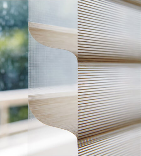 Luxdezine Window Blinds 3D Zoom Side