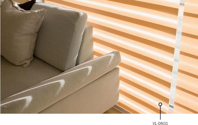 Luxdezine Window Blinds Combi Shades Bedroom White Sofa