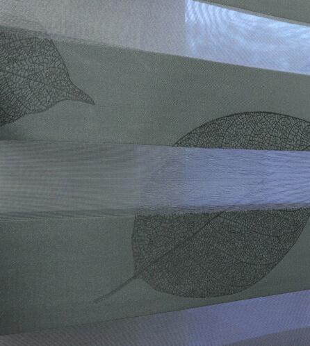 Luxdezine Window Blinds Combi Shades Black Bedroom Zoom Privacy
