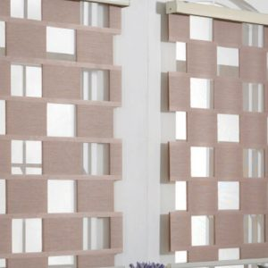 Luxdezine Window Blinds Combi Shade Cube