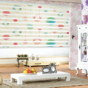 luxdezine Window Blinds Combi Shades Dual Graphic