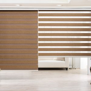 Luxdezine Window Blinds Combi Shades Joker 1 Blackout