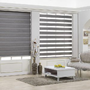 Luxdezine Window Blinds Combi Shades Joker 2 Blackout