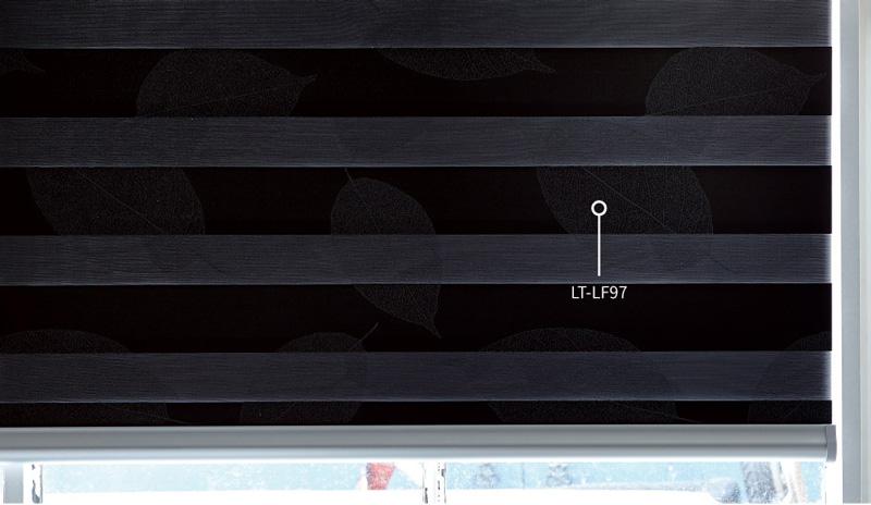 Luxdezine Window Blinds Combi Shades Living Room