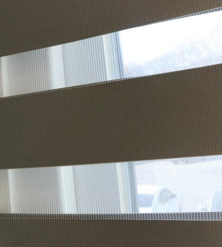 Luxdezine Window Blinds Combi Shades Modern Bedroom Detail
