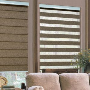 Luxdezine Window Blinds Combi Shades Woodlock Premier