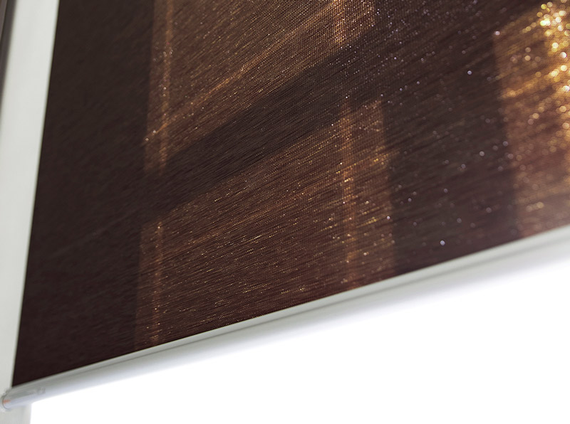 Luxdezine Window Blinds Roll Natural Plain Misty Higthlight