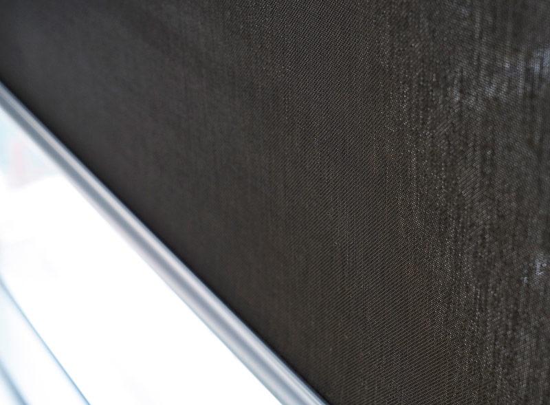 Luxdezine Window Blinds Roll Screen Black Texture