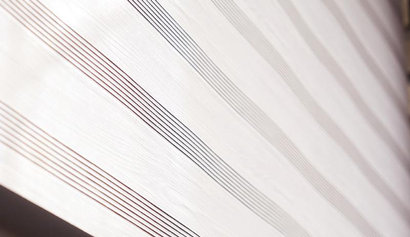 Luxdezine Windows Blinds Roll Screen Shades White Zoom