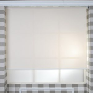 Luxdezine Window Blinds Roll Screen Sun