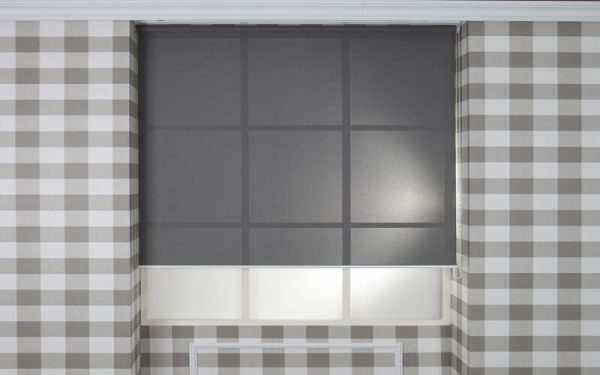 Luxdezine Window Blinds Roll Screen Sun Screen