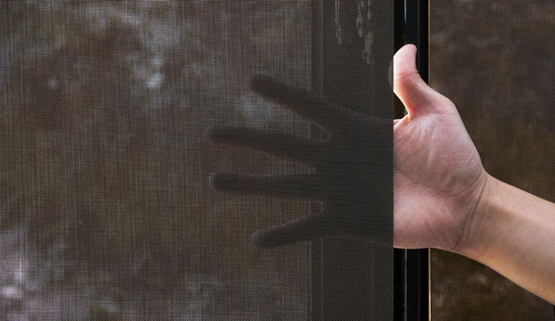Luxdezine Window Blinds Roll Screen Zoom Hand Shadow Texture