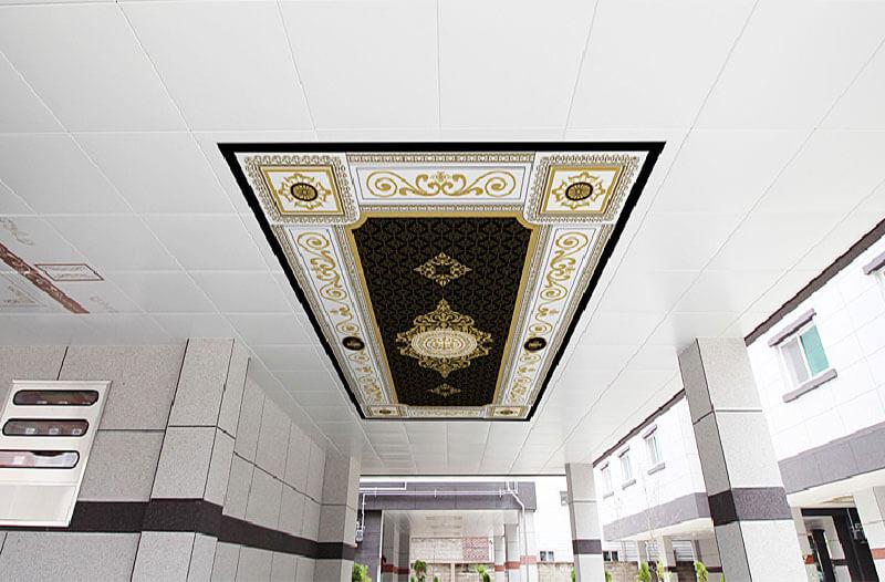 Elegant Metal Ceiling