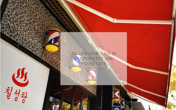 Luxdezine Awning For Sale in Quezon City and Pasay City