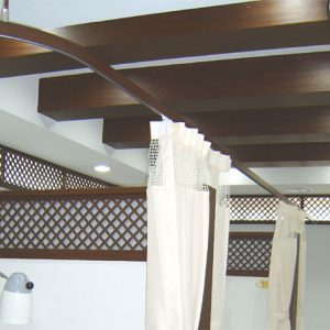 Luxdezine Medical Rails Walnut
