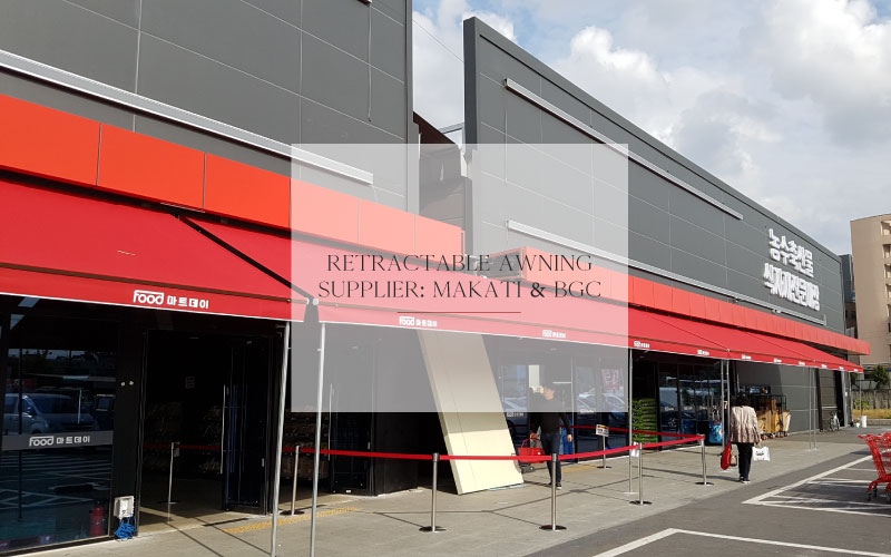 Luxdezine Retractable Awning Supplier Makatic BGC