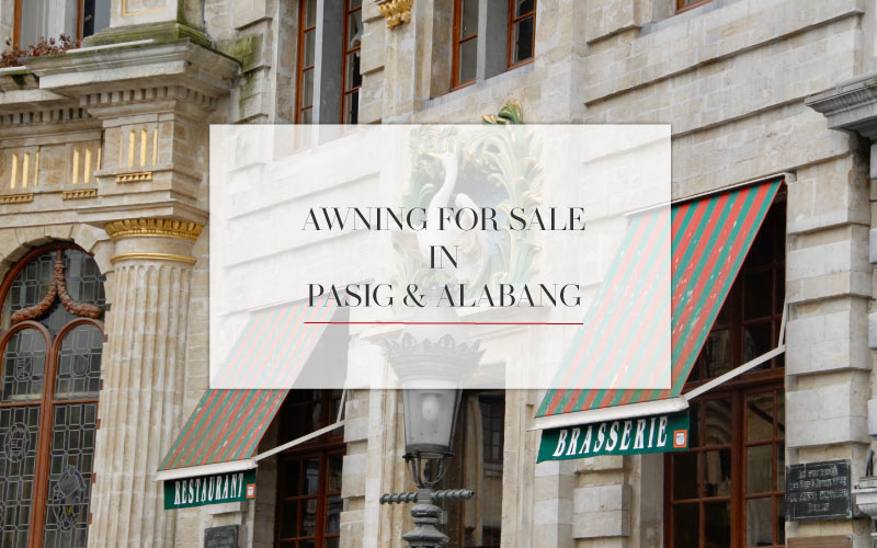 Luxdezine Awning For Sale In Pasig And Alabang