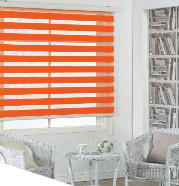 Blinds Basic Orange
