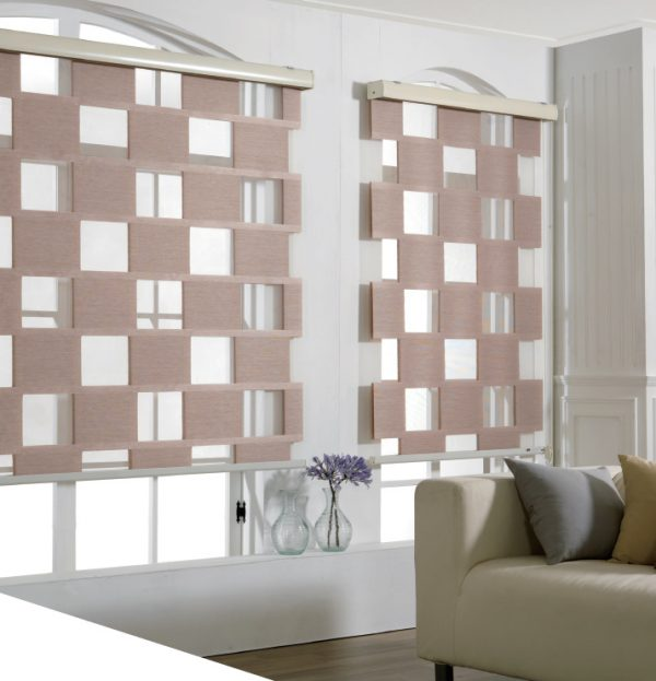 Blinds Cube One Brown