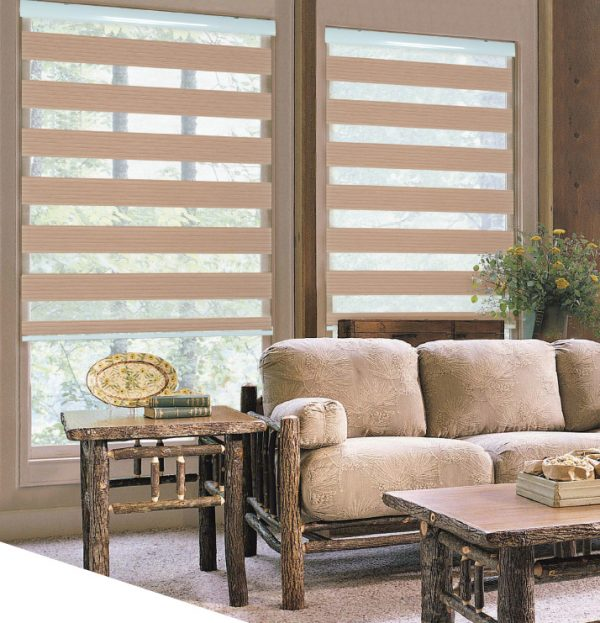 Blinds Eco Seven Line Pleated One