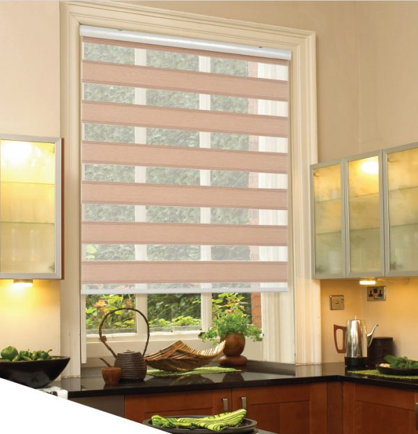 Blinds Open Grace Two Line Pleated One
