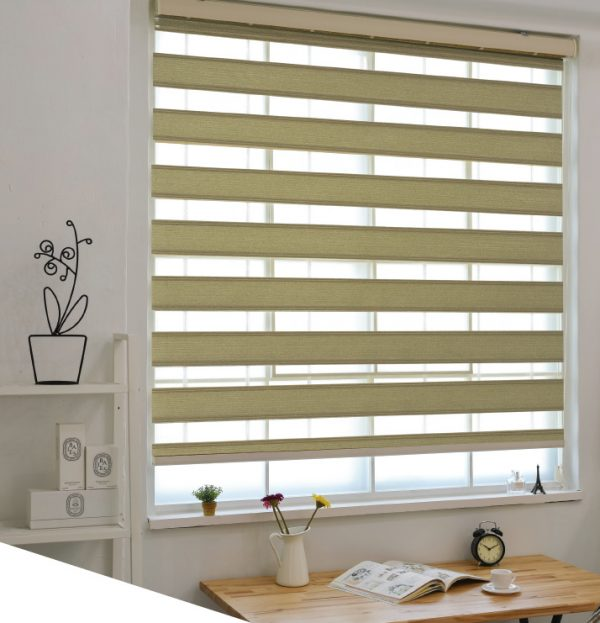 Blinds Open Grace Two Line Pleated Two