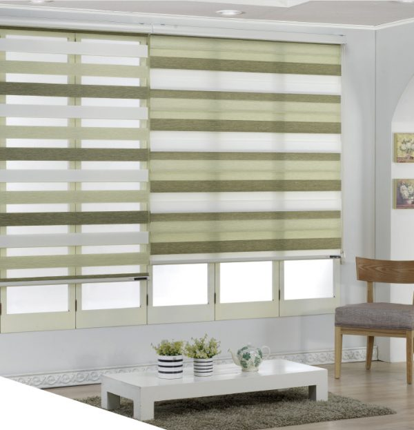 Blinds Three Color Woodlook
