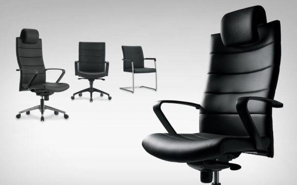 Luxdezine Black Multiple Excutive Chair