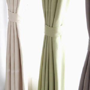 Luxdezine Blackout Curtains Cotton